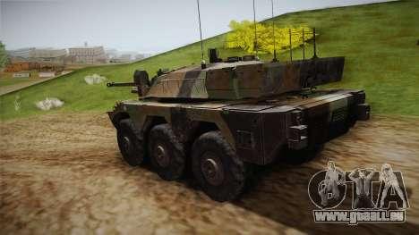 AMX-10RC für GTA San Andreas zurück linke Ansicht