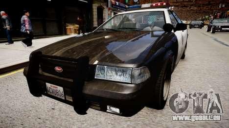 La voiture de police de GTA V pour GTA 4 est un droit