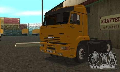 KamAZ 5460 pour GTA San Andreas laissé vue