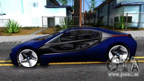 BMW Vision 3 pour GTA San Andreas laissé vue