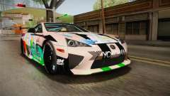 Lexus LFA Felix The Brown of ReZero für GTA San Andreas