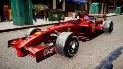 Formula 1 - LaFerrari F2007 für GTA 4