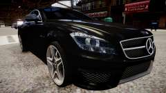 Mercedes-Benz CLS 6.3 AMG'12 pour GTA 4