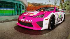 Lexus LFA Ram The Red of ReZero pour GTA San Andreas