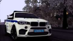 BMW X6M 2015 Russian Police pour GTA San Andreas