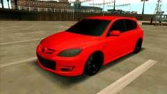 Mazda 3 Red für GTA San Andreas