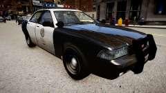 La voiture de police de GTA V