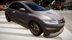 Honda Civic Type R Mugen '2010 v1.5 für GTA 4