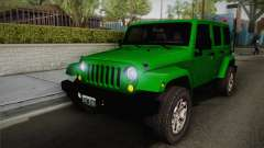 Jeep Wrangler Unlimited Rubicon 2013 für GTA San Andreas