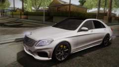 Mercedes-Benz S63 AMG W222 pour GTA San Andreas