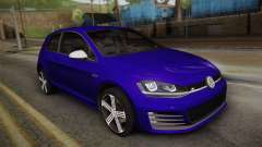 Volkswagen Golf 7R 2015 Beta V1.00 pour GTA San Andreas