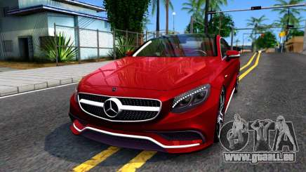 Mercedes-Benz S63 AMG Coupe für GTA San Andreas