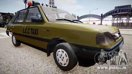 FSO Polonez TAXI pour GTA 4