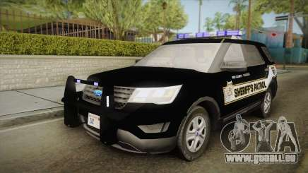 Ford Explorer 2016 Red County Sheriffs Office pour GTA San Andreas