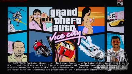 GTA Vice City Boot screens pour GTA San Andreas