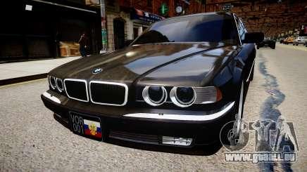 BMW 750iL E38 pour GTA 4