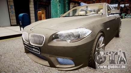 BMW 550i F10 v2 pour GTA 4