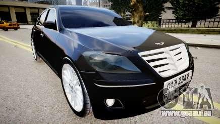Hyundai Genesis 2008 pour GTA 4