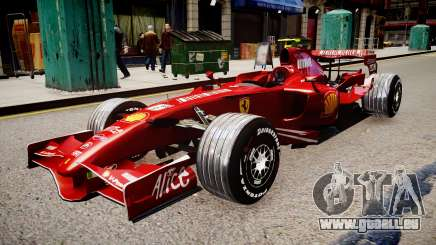 Formula 1 - LaFerrari F2007 pour GTA 4
