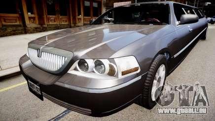 Lincoln Town Car Limousine 2010 pour GTA 4