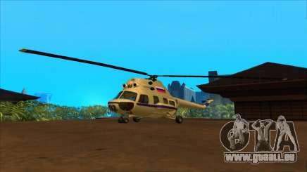 L'hélicoptère de la police de la Fédération pour GTA San Andreas