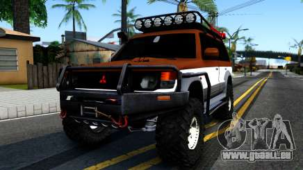 Mitsubishi Pajero Off-Road für GTA San Andreas