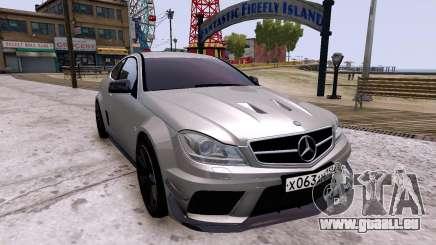 Mercedes-Benz C63 AMG 2012 v1.0 für GTA 4