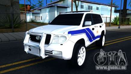 Toyota Land Cruiser Police pour GTA San Andreas