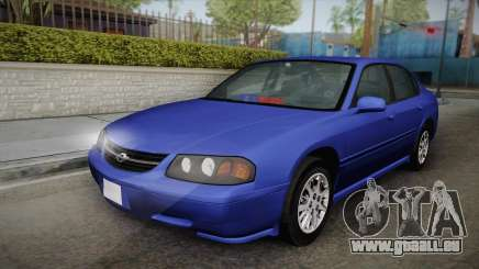 Chevrolet Impala 2004 Detective Unmarked pour GTA San Andreas