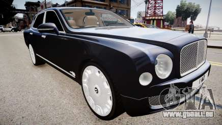 Bentley Mulsanne 2014 für GTA 4