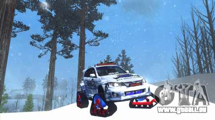 Subaru Impreza WRX STi Snow für GTA San Andreas