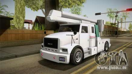 GTA 5 Brute Utility Truck pour GTA San Andreas