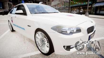 BMW Police Prefecture pour GTA 4