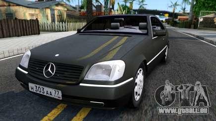 Mercedes-Benz 600SEC 1993 pour GTA San Andreas