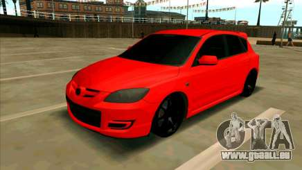 Mazda 3 Red pour GTA San Andreas