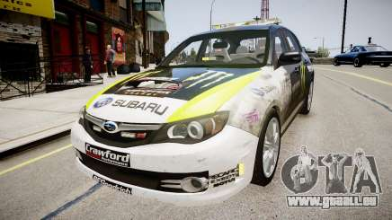 Subaru Impreza WRX STi K.Block für GTA 4
