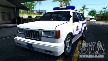 Landstalker Hometown Police Department 1994 für GTA San Andreas