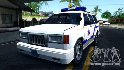 Landstalker Hometown Police Department 1994 für GTA San Andreas