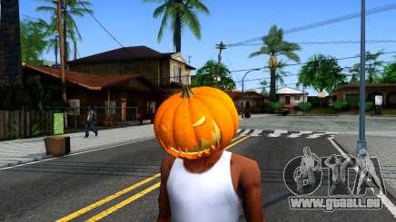 Pumpkin Mask Celebrating Halloween pour GTA San Andreas