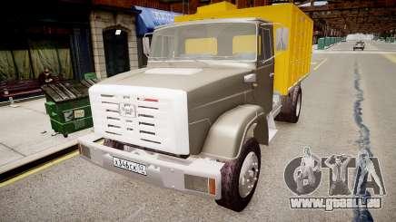 ZIL 4331 Camion à Ordures pour GTA 4