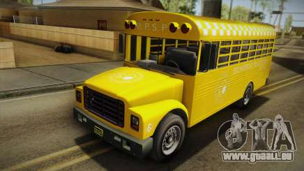 GTA V Vapid Police Prison Bus für GTA San Andreas
