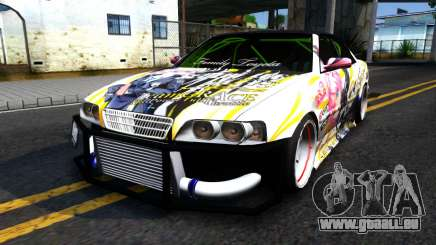 Toyota Chaser Seulbi Lee Itasha Drift pour GTA San Andreas