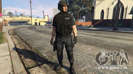 LSPD SWAT Ped Model 1.2.2 pour GTA 5