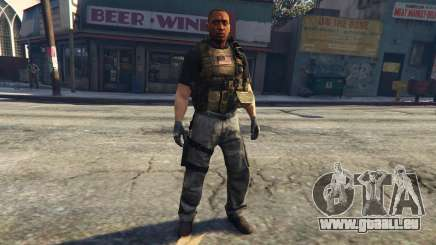 New Black Ops Ped 0.2 pour GTA 5