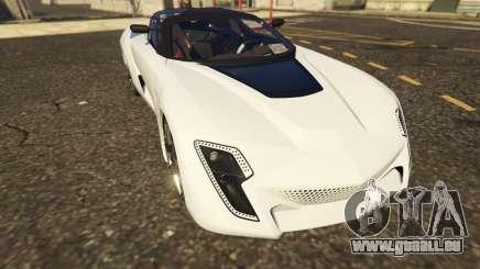 Italy Bertone Mantide 2010 für GTA 5