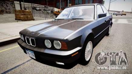 BMW 535i E34 v3.0 pour GTA 4