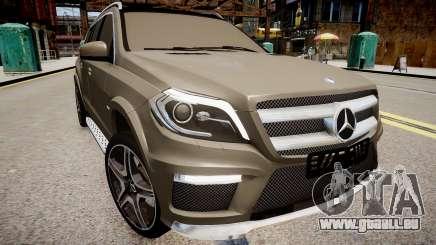 Mercedes-Benz GL63 AMG für GTA 4