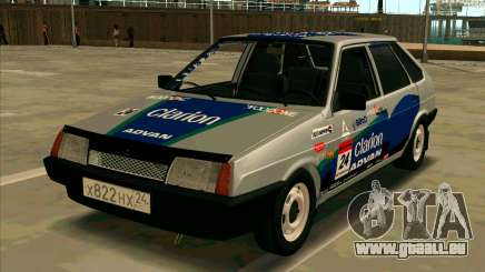VAZ-2109 RALLYE HAUT für GTA San Andreas