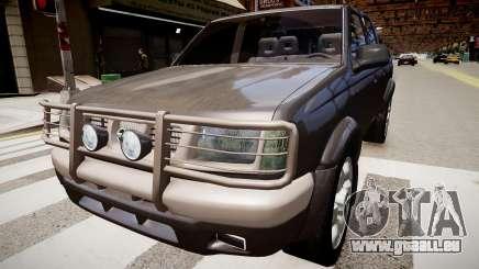 Nissan Navara Pickup Crew Cab pour GTA 4