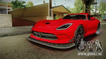Dodge Viper ACR 2016 für GTA San Andreas